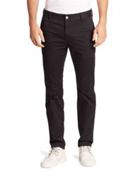 Wesc Relaxed Fit Cotton Stretch Pants Black
