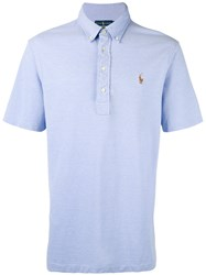 Polo Ralph Lauren Classic Top Men Cotton Xl Blue