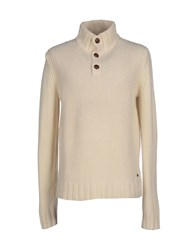 Woolrich Knitwear Turtlenecks Men Ivory