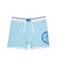 Original Penguin Single Boxer Brief Crystal Blue Men's Underwear