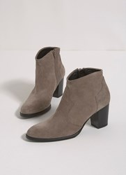 Mint Velvet Taupe Addison Cowboy Boot Brown