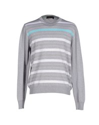 Harmontandblaine Knitwear Jumpers Men Grey