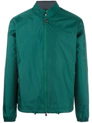 Z Zegna Light Shell Jacket Green