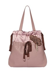 Nica Daydreamer Drawstring Tote Bag Pink