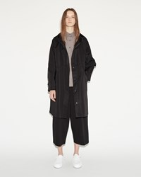 Jil Sander Copyright Oversized Parka Black