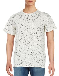 Wesc Dotted Cotton Tee Winter White