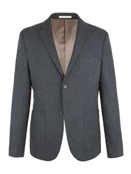 Racing Green Men's Boyce Twill Blazer Blue