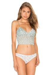 Free People Lace Lacey Cami Bra Mint