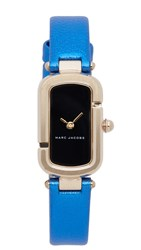 Marc Jacobs The Watch Black Gold Blue