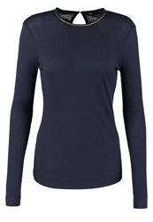 Stine Goya Jordan Long Sleeved Top Ebony Dark Blue
