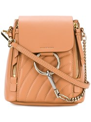 Chloe Mini Backpack Nude And Neutrals