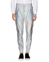 Frankie Morello Casual Pants Silver
