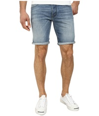 French Connection Destroyer Denim Reg Shorts In Bleached Out Bleached Out Men's Shorts Bone