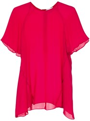 Rebecca Vallance Lilly Blouse Red