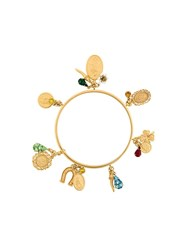 Dolce And Gabbana Charm Bangle Metallic