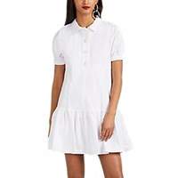 Opening Ceremony Cotton Flannel Shirtdress White