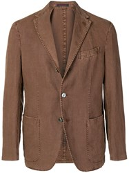 The Gigi Structured Blazer Brown