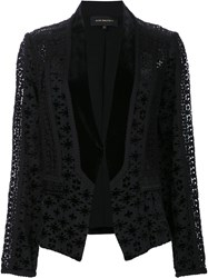 Kobi Halperin Embroidered Blazer Black
