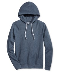 American Rag Men's Thermal Raglan Hoodie Only At Macy's Blue Stone Opd