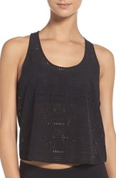 Alo Yoga Women's Hollow Perforated Crop Tank