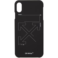 Off White Black And Unfinished Iphone Xs Max Case