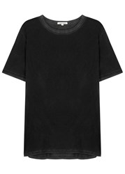 Cotton Citizen Classic Faded Supima Cotton T Shirt Charcoal