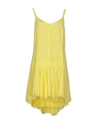 Ki6 Who Are You Dresses Short Dresses Women Yellow