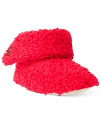 Charter Club Super Soft Bootie Slippers Only At Macy's Candy Red