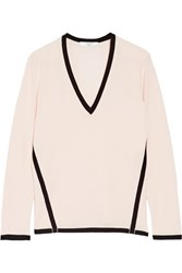 Lanvin Two Tone Wool Sweater Pastel Pink