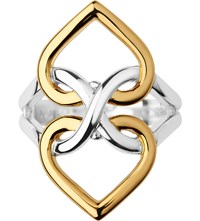 Links Of London Infinite Love 18Ct Gold Vermeil And Sterling Silver Ring