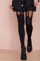 Nasty Gal House Of Holland Super Suspender Tights