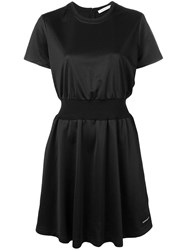 Calvin Klein Jeans Fitted T Shirt Dress Black