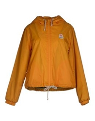 Franklin And Marshall Jackets Orange