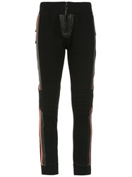 Andrea Bogosian Panelled Sweatpants Black