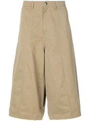 Societe Anonyme Bomb Culotte Pants Unisex Cotton S Brown