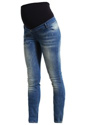 Love2wait Sophia Slim Fit Jeans Destroyed Wash Destroyed Denim