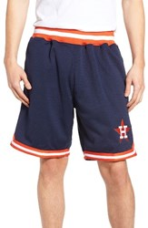Mitchell And Ness Men's Houston Astros Playoff Win Mesh Shorts