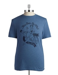 Original Penguin Pin Up Tee China Blue
