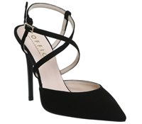 Office Here We Go Skinny Strap Courts Black