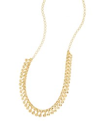 Lana Gloss Dangling Fringe Necklace In 14K Gold