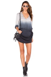 Young Fabulous And Broke Jenah Romper Gray