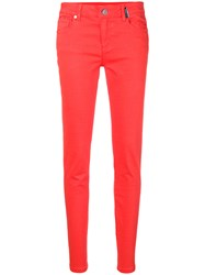 Versace Jeans Classic Skinny Fit Jeans Red
