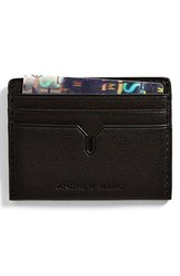 Andrew Marc New York Men's Andrew Marc 'Bowery' Card Case Brown Smog