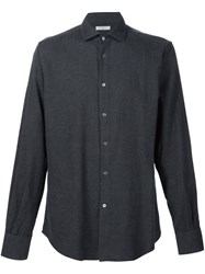 Boglioli Casual Long Sleeved Shirt Grey