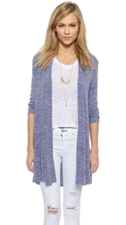 Riller And Fount Giovani A Line Cardigan Maritime