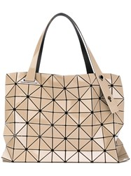 Issey Miyake Bao Bao Prism Tote Bag Women Polyester Polyurethane One Size Nude Neutrals
