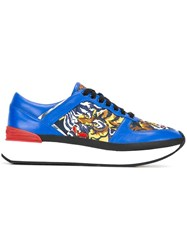 Kenzo 'Flying Tiger K Run' Sneakers Blue