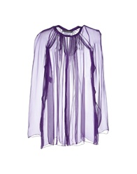 Alberta Ferretti Shirts Purple