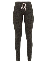 The Upside Army Leopard Print Technical Jersey Leggings Leopard