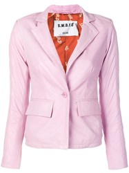 S.W.O.R.D 6.6.44 Fitted Blazer Pink